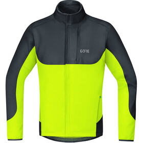 GORE WEAR C5 Gore Windstopper Thermo Trail Jacket Herre black/neon yellow